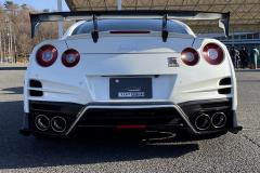 R35 GT-R White