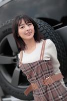 「ドラマに出てきそう」牧野澪菜×ディフェンダー【注目モデルでドライブデート!? Vol.63】 - makino-defender024