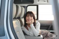 「ドラマに出てきそう」牧野澪菜×ディフェンダー【注目モデルでドライブデート!? Vol.63】 - makino-defender027