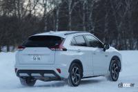 三菱エクリプスクロスPHEV、充電できるハイブリッドSUVは雪道ドライブでさらに本領発揮 - ecliPHEV_SNOW_0002