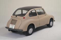 1958年発売のスバル360(バック)