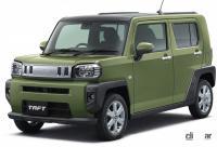 駐車が苦手な人も安心! ほぼ「自動駐車」ができる最新システム搭載の国産車 - 2020_daihatsu_taft_003