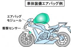 車体装備エアバッグ