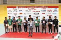 学生フォーミュラ日本大会2019表彰式