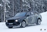 グローバルモデルとして発売の可能性も。ベントレーSUV「ベンテイガLWB」、ウィンターテスト開始! - Bentley Bentayga lwb 1