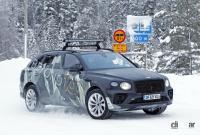グローバルモデルとして発売の可能性も。ベントレーSUV「ベンテイガLWB」、ウィンターテスト開始! - Bentley Bentayga lwb 10