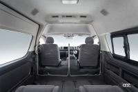 トヨタがハイエースに装着できる純正用品の「飛沫感染対策セパレータ」を2万7500円で発売 - toyota_hiace_20210301_1