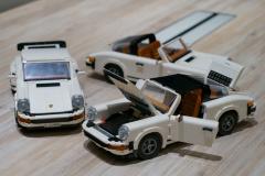 LEGOポルシェ911/ターボとタルガ、同じキットからどちらかを作り出すことが可能