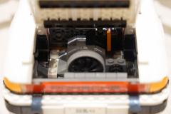LEGOポルシェ911/ターボ、タルガでエンジンも変えているというこだわり