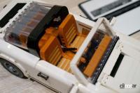 LEGOポルシェ911/シートカラーにはクラシカルなイメージのヌガーカラーが選ばれた