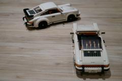 LEGOポルシェ911/ターボから作るか?タルガから作るか?どっち?