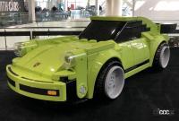 2018年11月新型ポルシェ911(992)がLAショーで発表された会場にあった実物大911レゴ