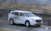 ホンダCR-V次期型をスクープ成功!フルEVも設定か? - Spy shot of secretly tested future car