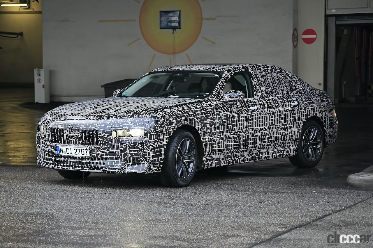 「BMW 7シリーズ次期型、EVのトップモデルには600馬力「i7M60」」の2枚目の画像