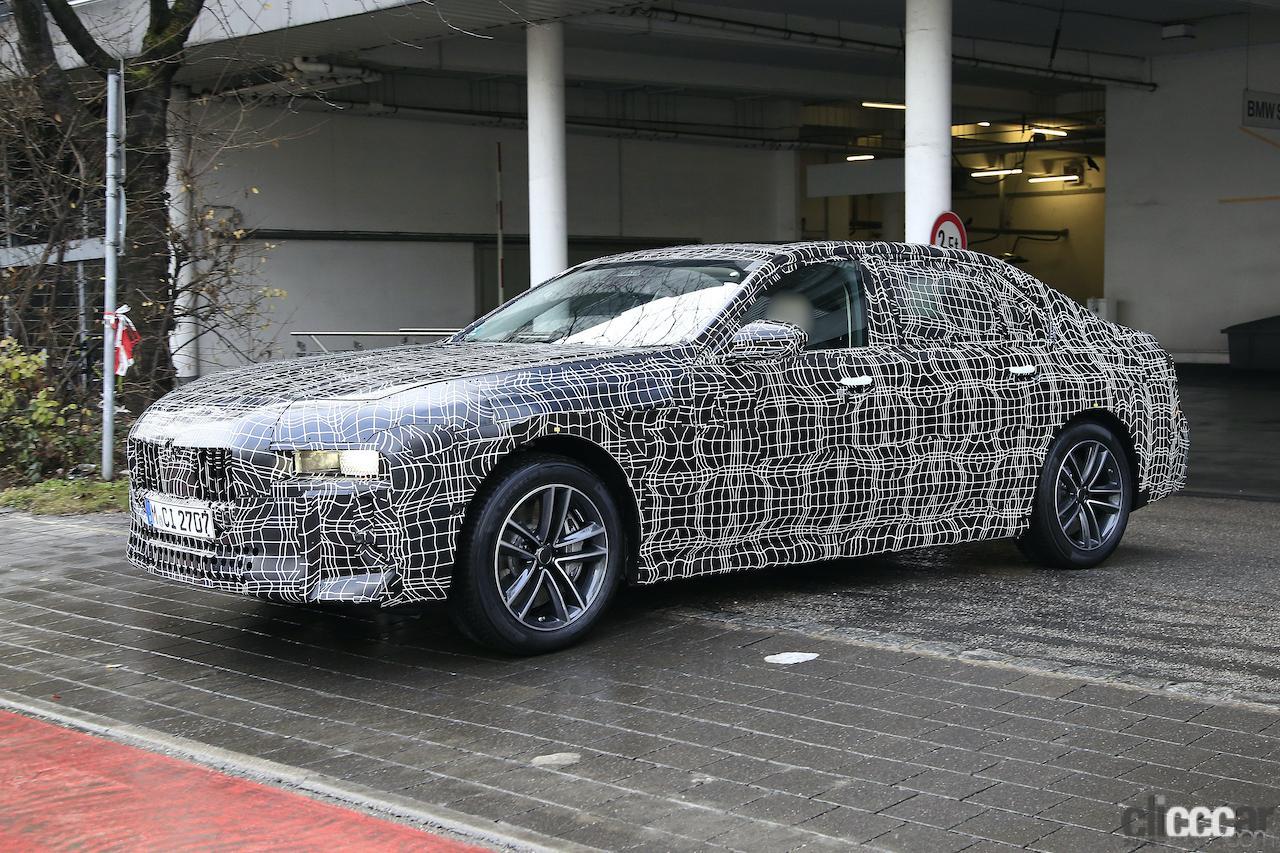 「BMW 7シリーズ次期型、EVのトップモデルには600馬力「i7M60」」の4枚目の画像
