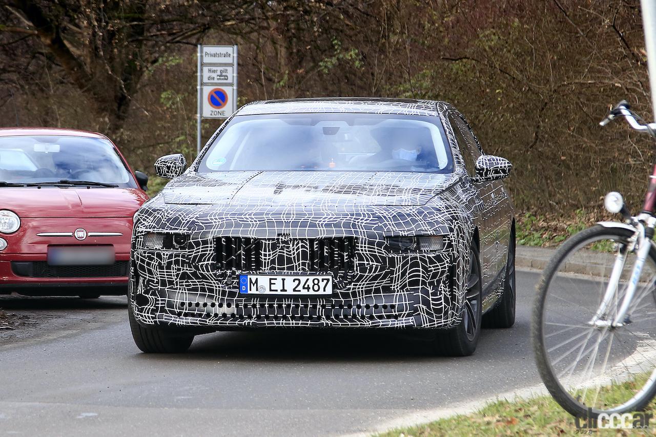 「BMW 7シリーズ次期型、EVのトップモデルには600馬力「i7M60」」の9枚目の画像