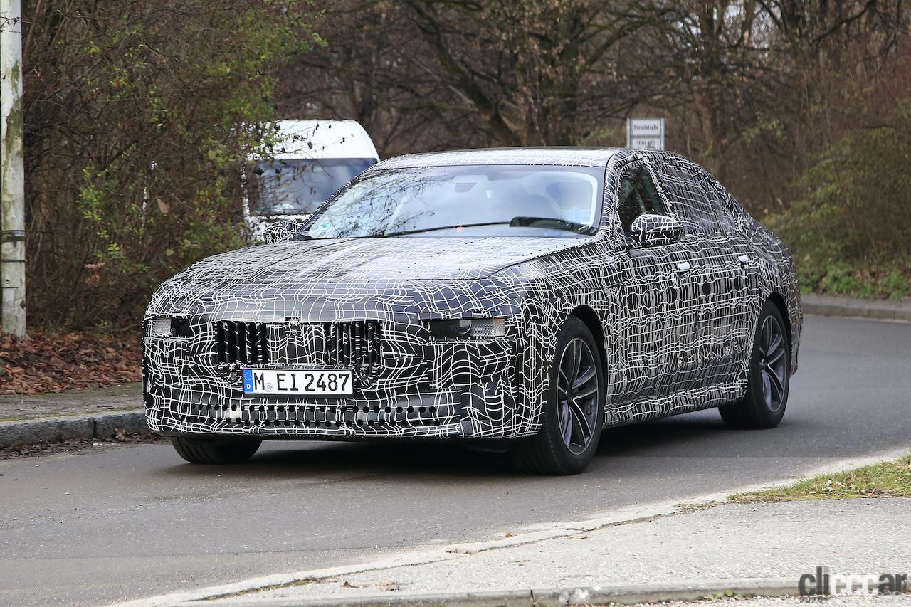 「BMW 7シリーズ次期型、EVのトップモデルには600馬力「i7M60」」の10枚目の画像