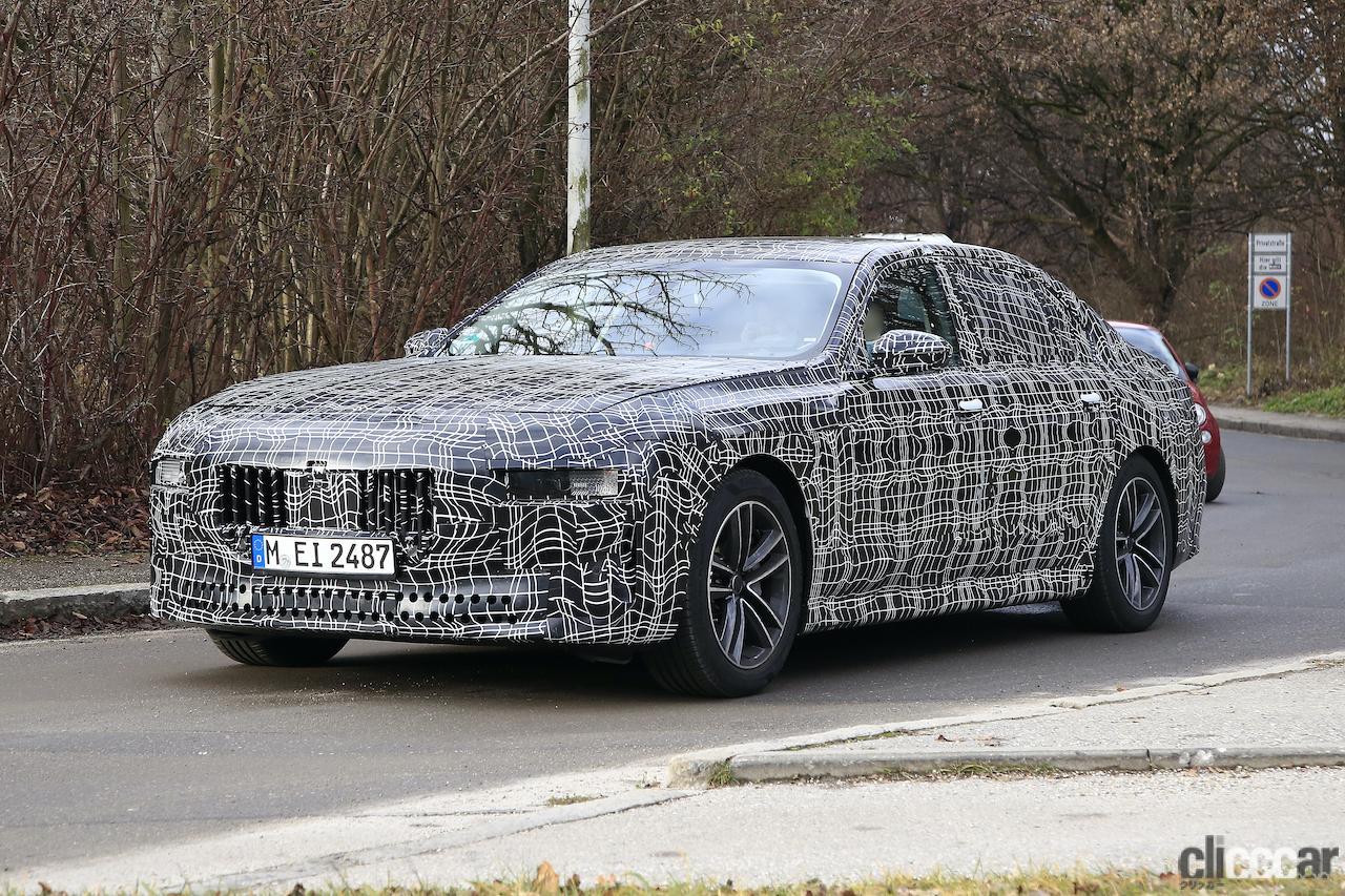 「BMW 7シリーズ次期型、EVのトップモデルには600馬力「i7M60」」の11枚目の画像