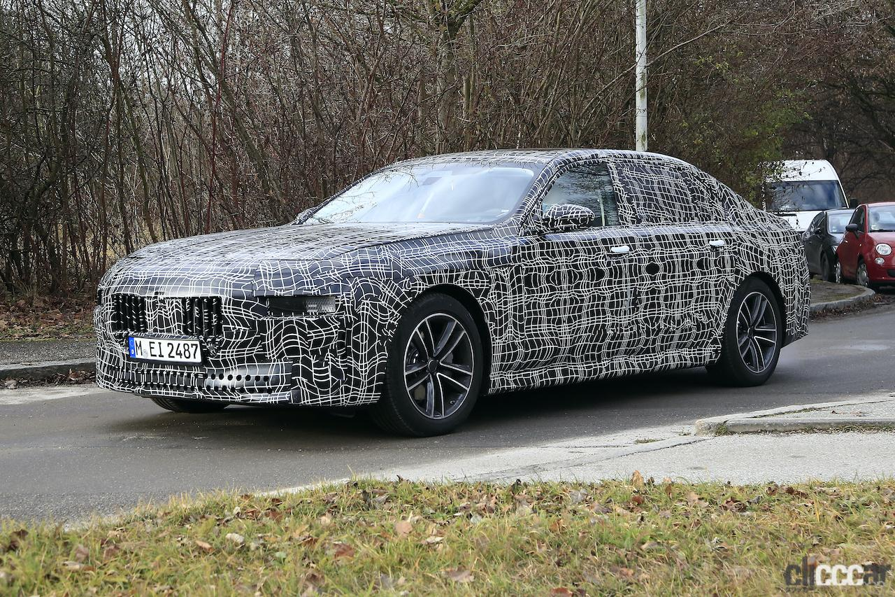 「BMW 7シリーズ次期型、EVのトップモデルには600馬力「i7M60」」の12枚目の画像