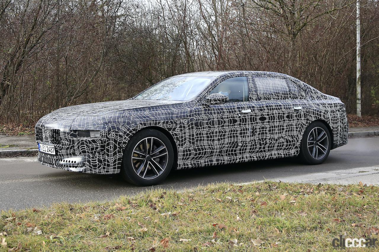 「BMW 7シリーズ次期型、EVのトップモデルには600馬力「i7M60」」の13枚目の画像