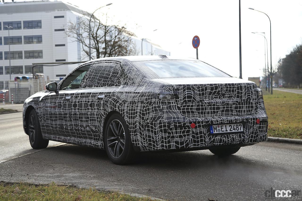 「BMW 7シリーズ次期型、EVのトップモデルには600馬力「i7M60」」の16枚目の画像