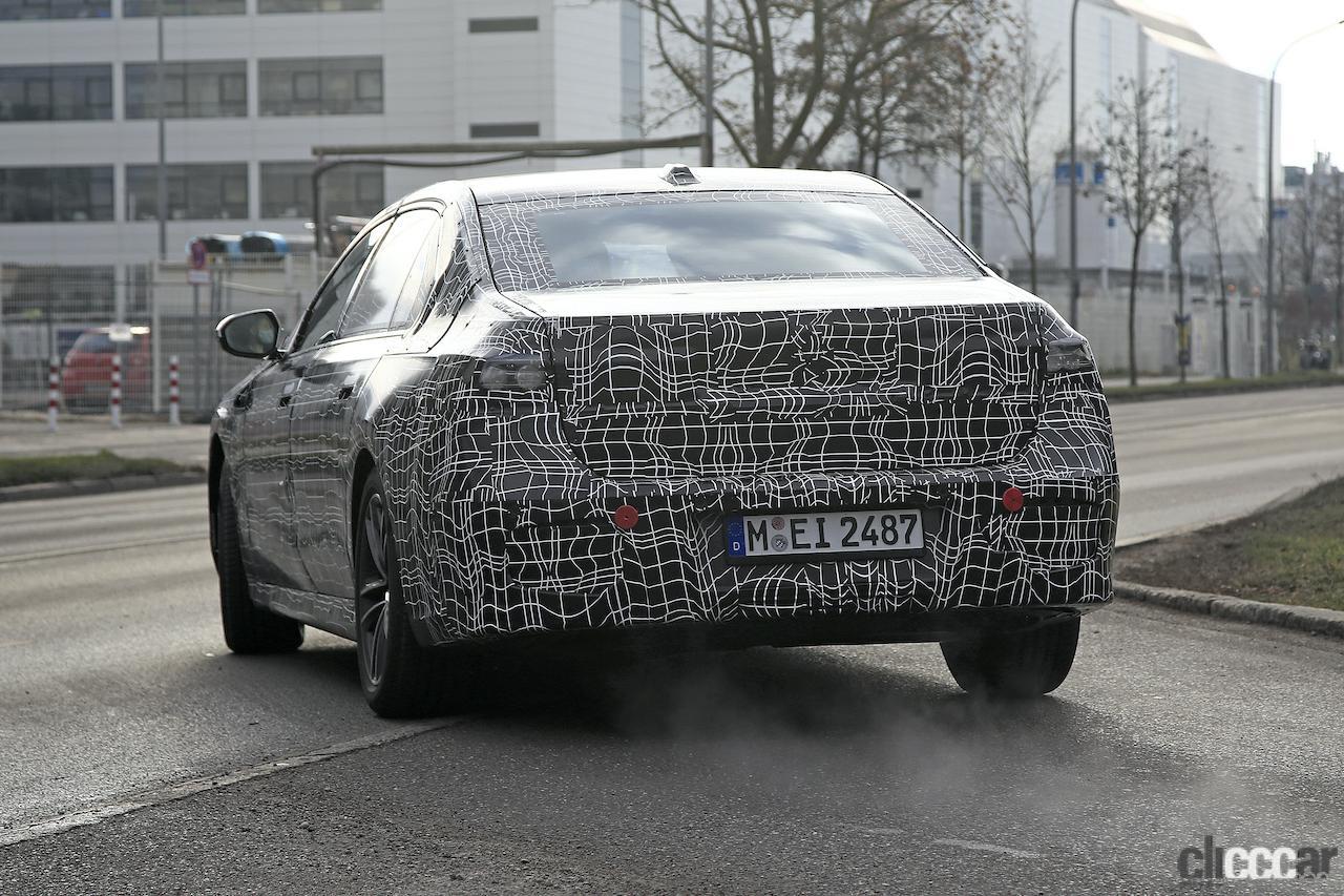「BMW 7シリーズ次期型、EVのトップモデルには600馬力「i7M60」」の17枚目の画像