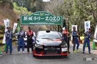 あ~残念…ついに全日本ラリー選手権からランエボが姿を消す⁉ - EvoX004