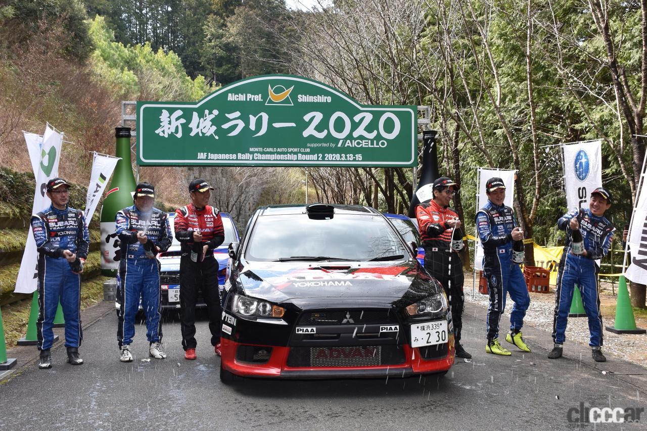 「あ~残念…ついに全日本ラリー選手権からランエボが姿を消す⁉」の4枚目の画像