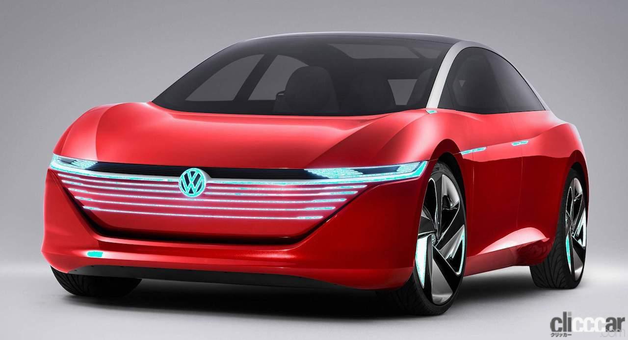 「VW「トリニティ」プロジェクト発足! 次世代フラッグシップEVセダンを示唆」の1枚目の画像