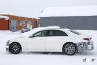 謎のサイコロはなんのサイン!? メルセデス・Sクラスに電動ハードコアモデル「S63e」設定へ - Mercedes S 63e PHEV 10