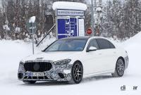 謎のサイコロはなんのサイン!? メルセデス・Sクラスに電動ハードコアモデル「S63e」設定へ - Mercedes S 63e PHEV 3