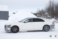 謎のサイコロはなんのサイン!? メルセデス・Sクラスに電動ハードコアモデル「S63e」設定へ - Mercedes S 63e PHEV 8