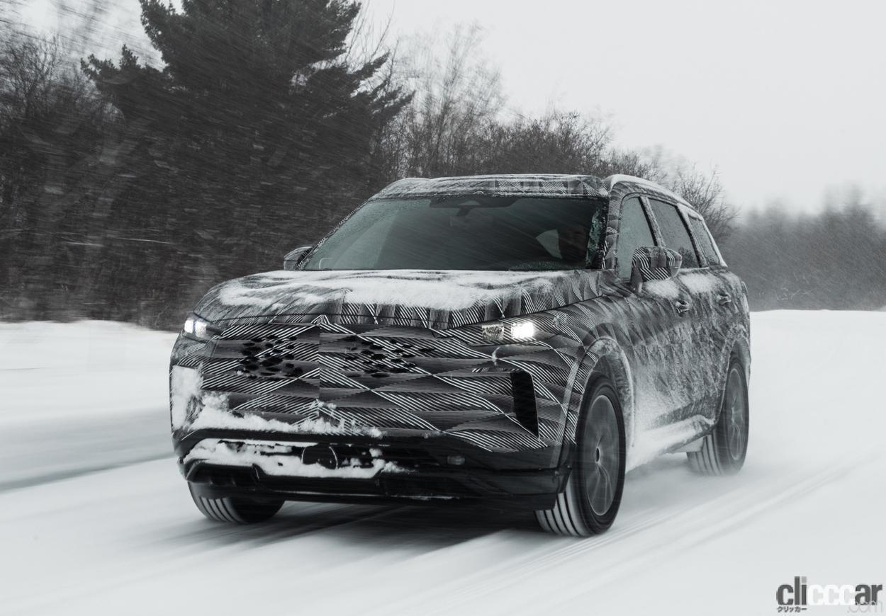 「「アクティブブレーキリミテッドスリップ」搭載した、インフィニティQX60の最新プロトタイプが雪上テスト」の3枚目の画像