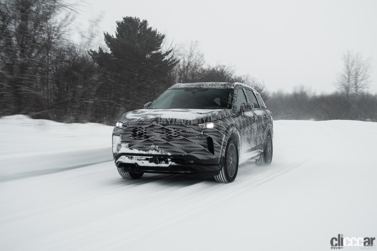 「「アクティブブレーキリミテッドスリップ」搭載した、インフィニティQX60の最新プロトタイプが雪上テスト」の4枚目の画像