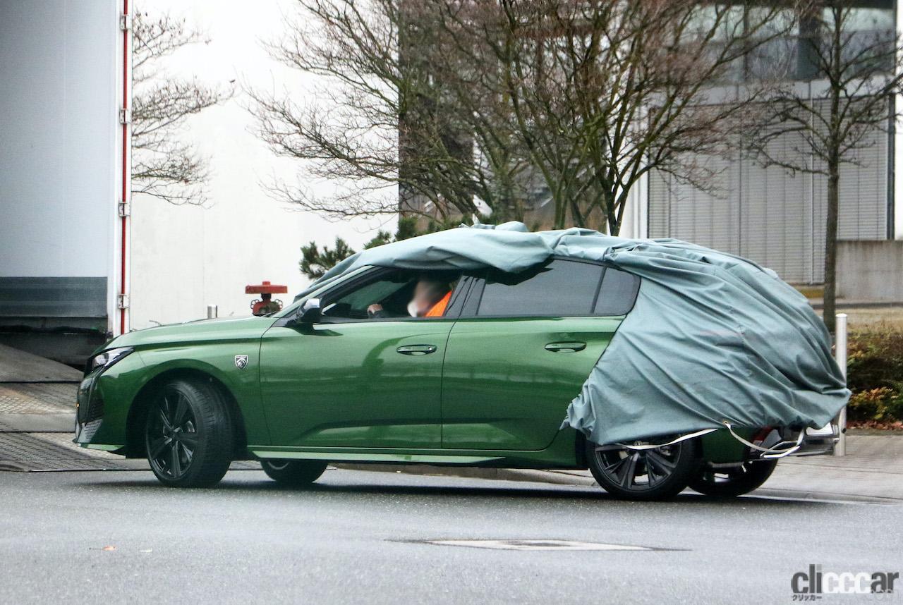 「新ライオンロゴも装着されるプジョー308次期型、衝撃のフルヌード公開!」の9枚目の画像