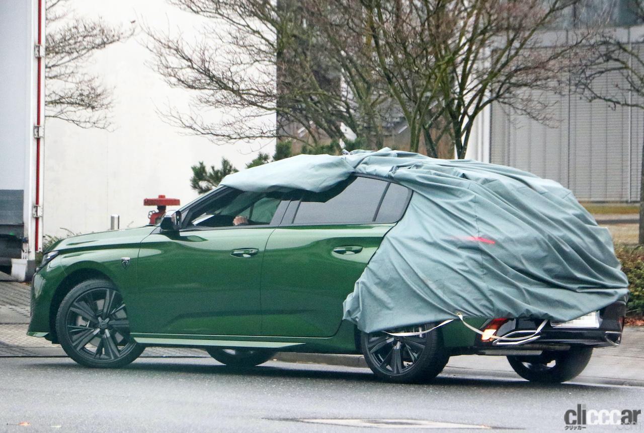 「新ライオンロゴも装着されるプジョー308次期型、衝撃のフルヌード公開!」の10枚目の画像