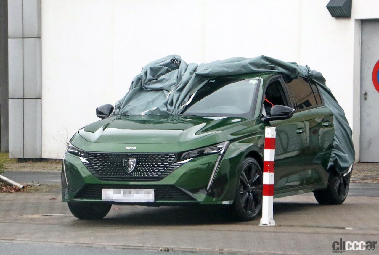 「新ライオンロゴも装着されるプジョー308次期型、衝撃のフルヌード公開!」の3枚目の画像