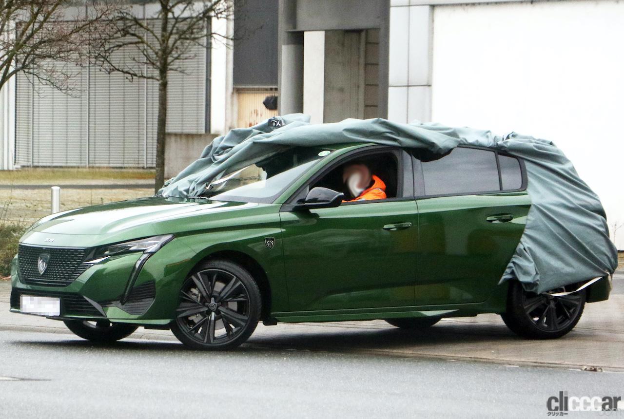 「新ライオンロゴも装着されるプジョー308次期型、衝撃のフルヌード公開!」の6枚目の画像