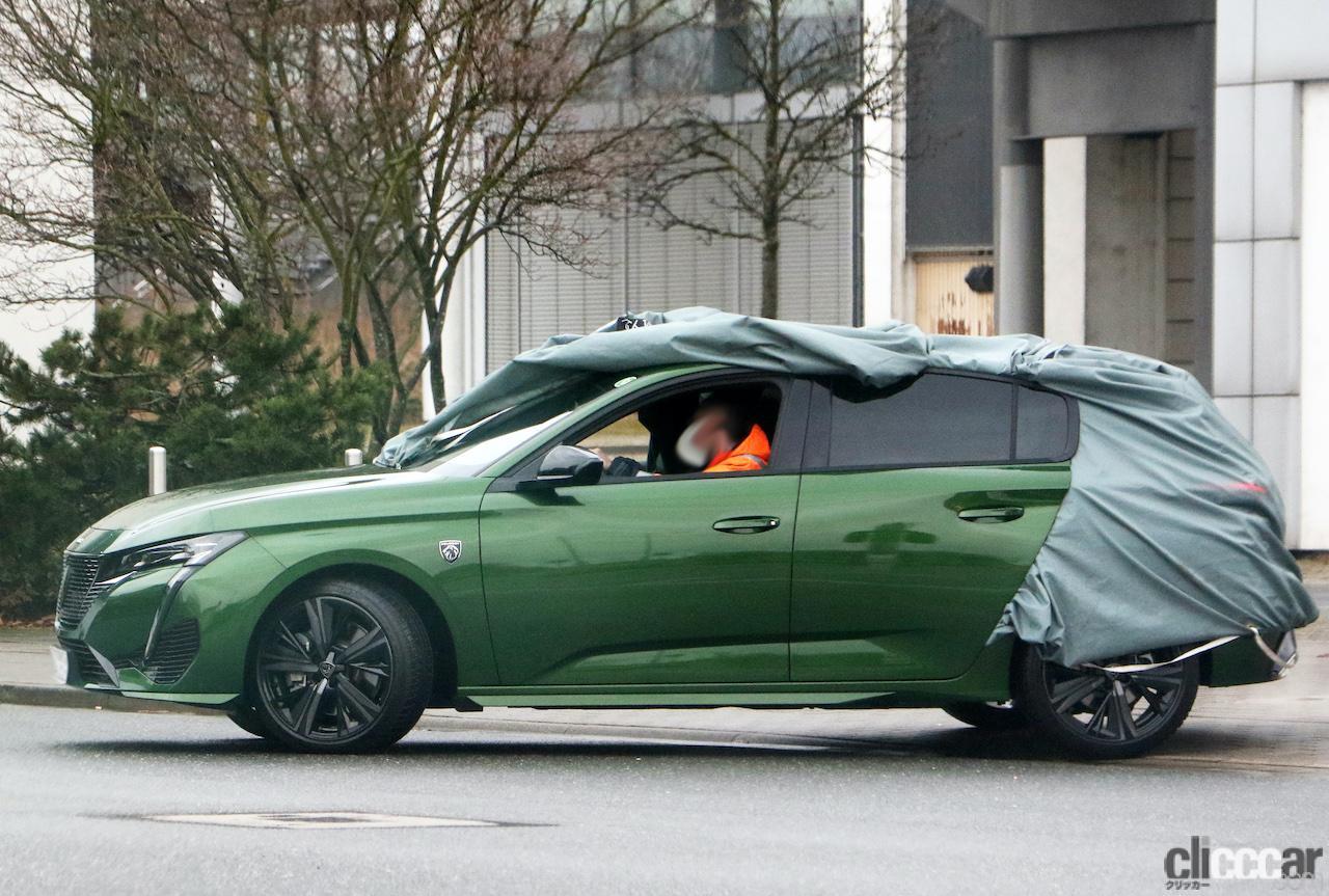 「新ライオンロゴも装着されるプジョー308次期型、衝撃のフルヌード公開!」の7枚目の画像