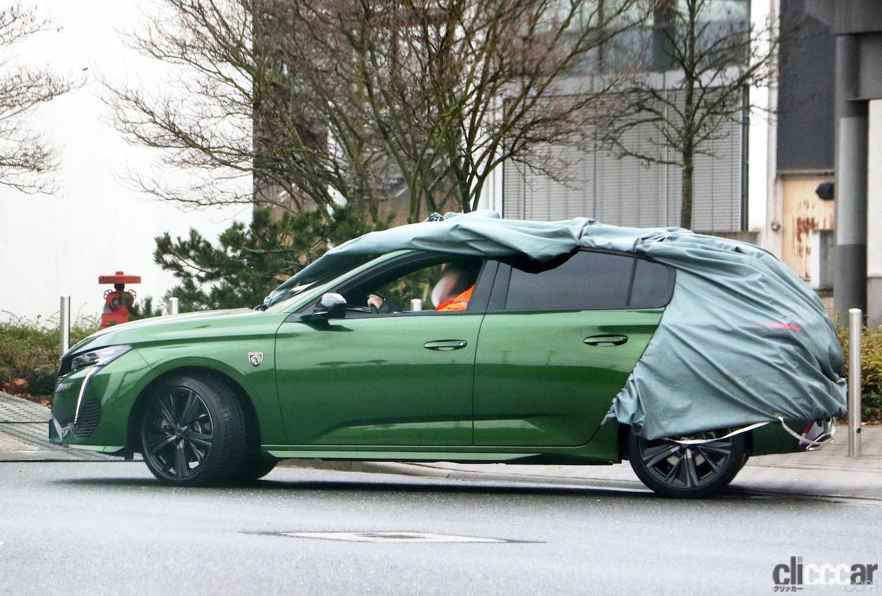 「新ライオンロゴも装着されるプジョー308次期型、衝撃のフルヌード公開!」の8枚目の画像