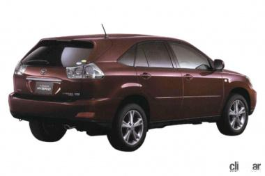 2005年発売のハリアーHV