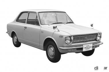 1966年発売の初代カローラ
