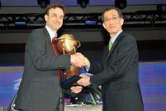 2008年WCOTY受賞シーン