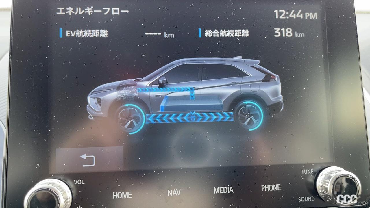 「三菱エクリプスクロスPHEVはターマックモードでランエボ化?高性能全部載せの特盛車!byウナ丼【動画あり】」の13枚目の画像