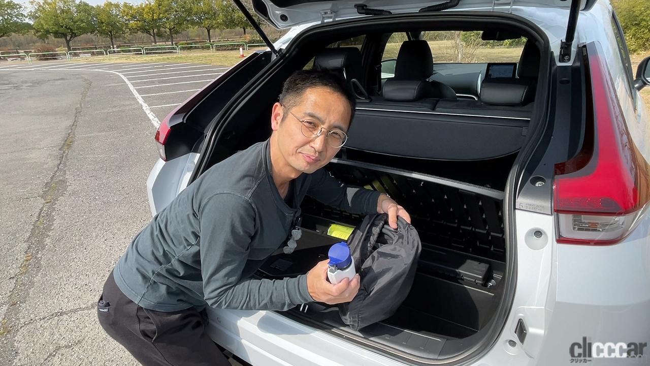 「三菱エクリプスクロスPHEVはターマックモードでランエボ化?高性能全部載せの特盛車!byウナ丼【動画あり】」の22枚目の画像