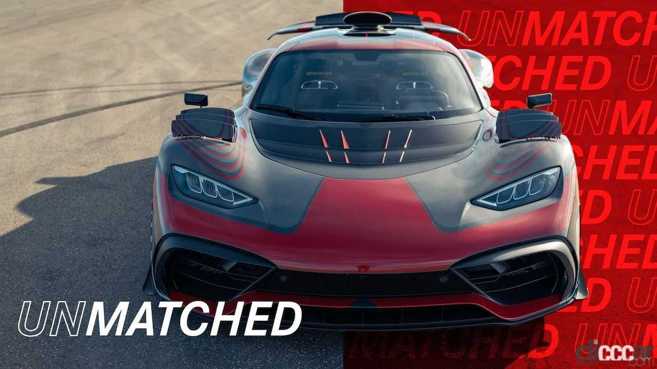 「最高出力は1200馬力!? F1エンジンを搭載するメルセデス初のハイパーカー「AMG ONE」が公式リーク」の6枚目の画像