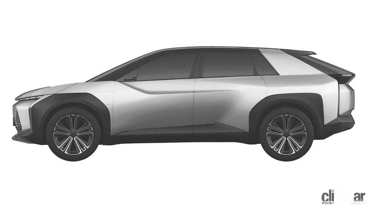 トヨタ 新型EV クロスオーバーSUV 特許画像_001