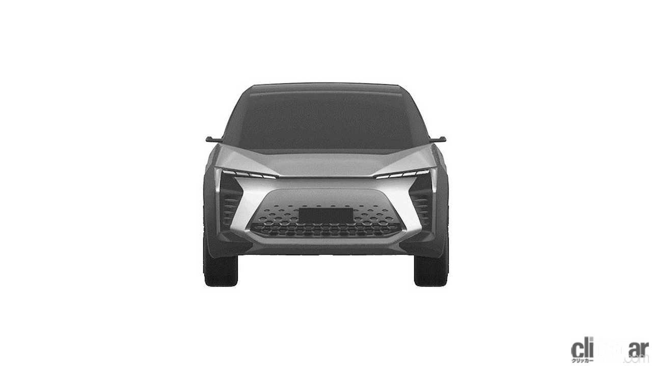 トヨタ 新型EV クロスオーバーSUV 特許画像_002