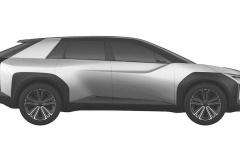 トヨタ 新型EV クロスオーバーSUV 特許画像_003
