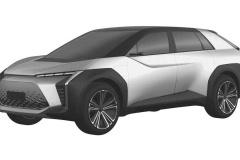 トヨタ 新型EV クロスオーバーSUV 特許画像_006
